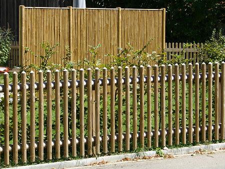 gartenzaun holz staketenzaun – bizfast, Moderne